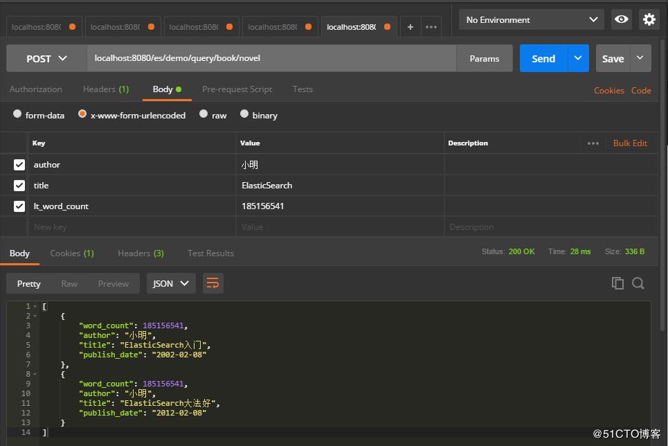 Spring Boot集成ElasticSearch实现简单的增删查改接口 荐