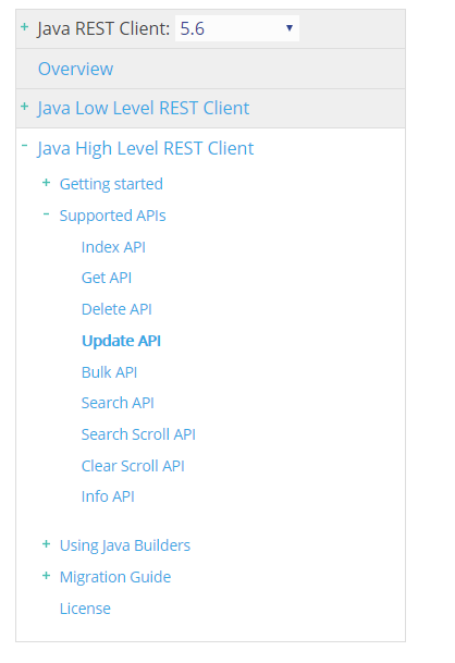 Elasticsearch Java Rest Client 上手指南(下)