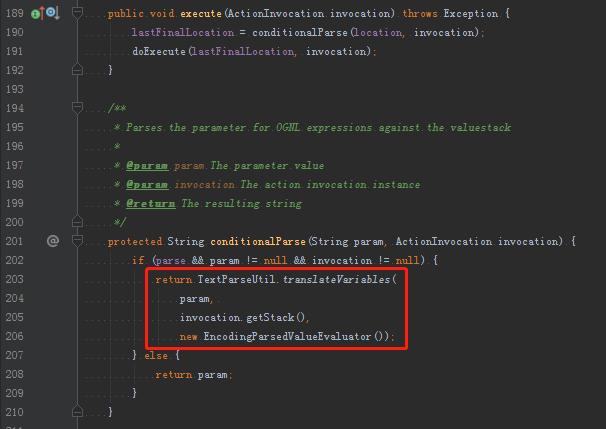 Struts2远程代码执行(S2-057)漏洞分析