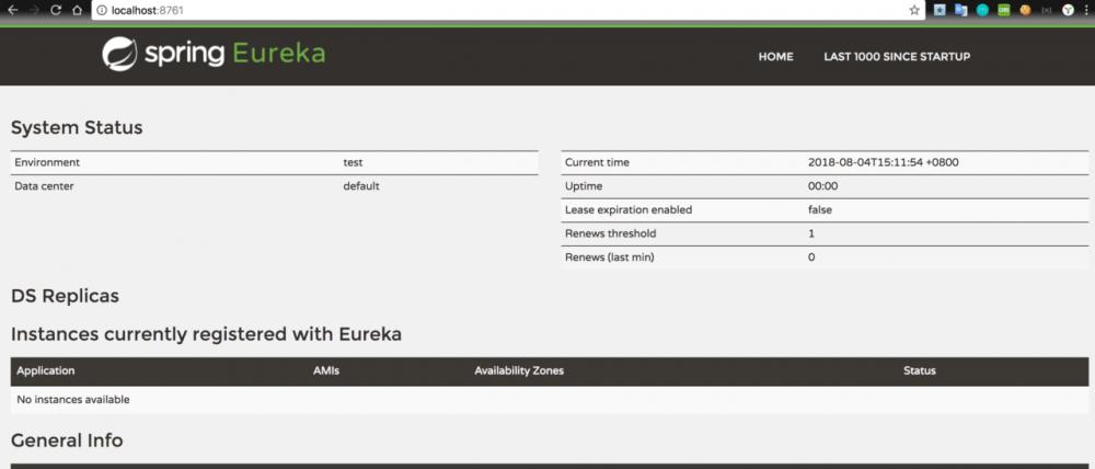 Spring Cloud 系列(一)Eureka 服务注册与发现