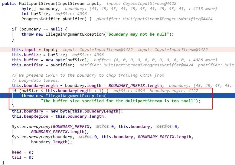 Apache Commons Fileupload Dos漏洞分析  Harries Blog™