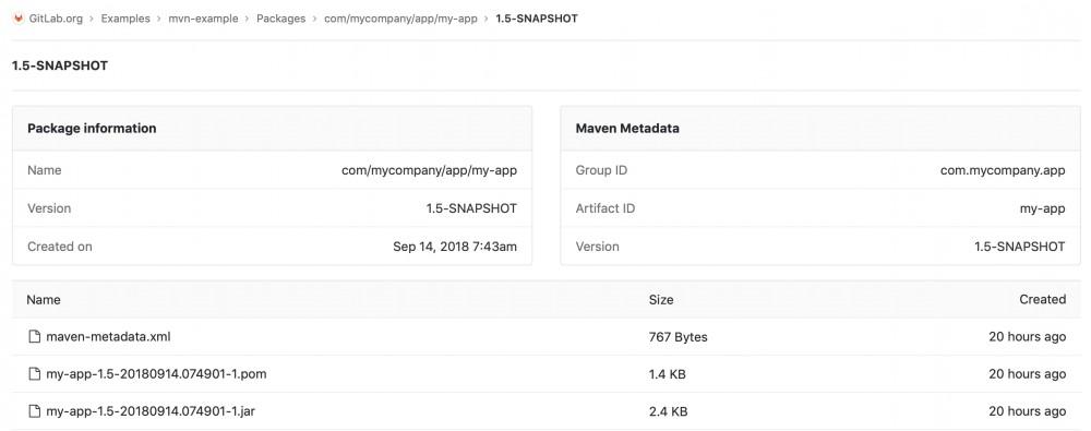 GitLab 11.3 为 Javaer 带来福音:支持 Maven 中央仓库