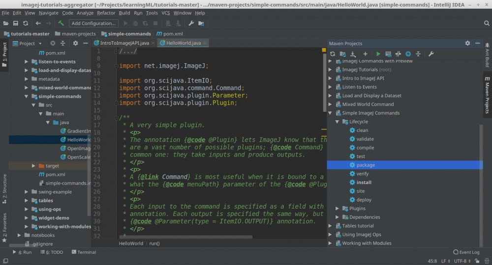 ImageJ的插件开发