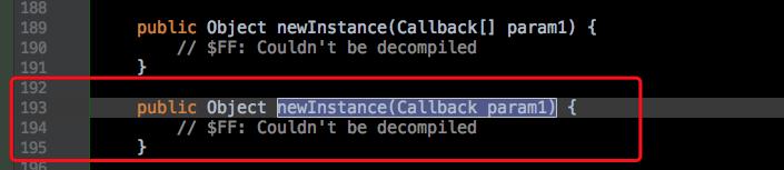 使用 Cglib 实现多重代理