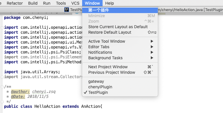IDEA&Android Studio Plugin开发