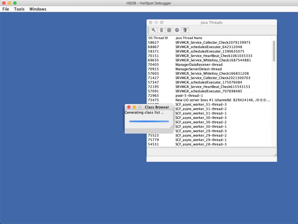 使用HSDB查看javassist生成的动态class