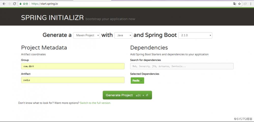 Spring boot集成Redis(2)—RedisTemplate的使用来存储Map集合