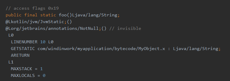通过字节码看原理,带你去找kotlin中的static方法