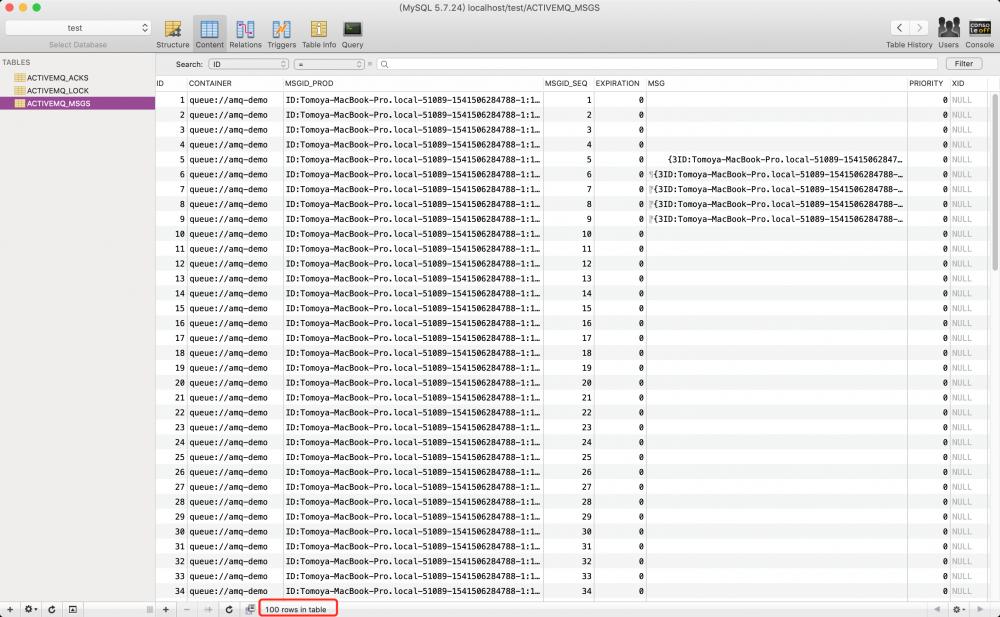 ActiveMQ学习-持久化队列数据,将队列中的消息存入MySQL (3)