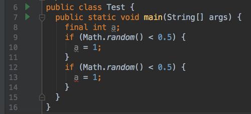 Java中的final关键字