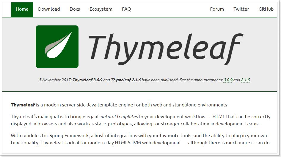 thymeleaf语法入门