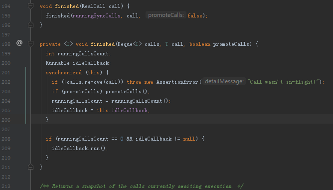 Okhttp同步请求源码分析