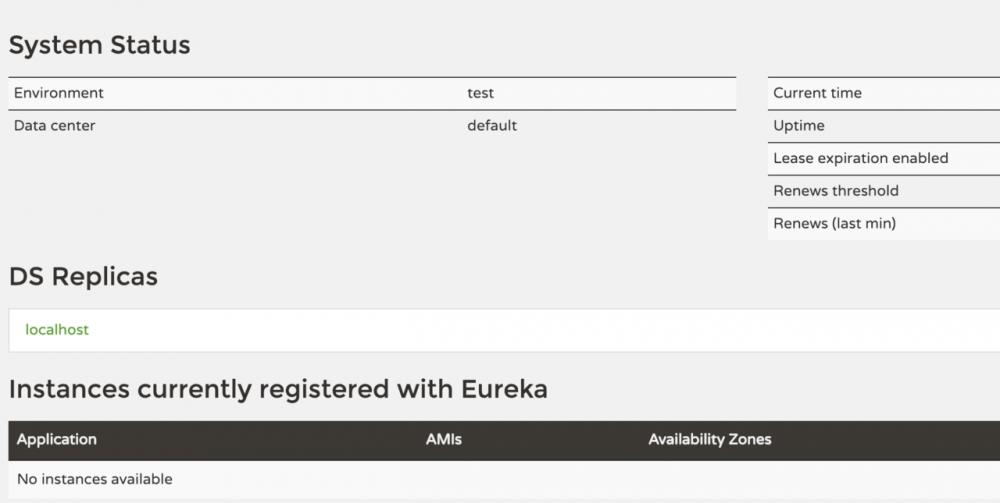Spring-Cloud 从0开始(一) Eureka-Server
