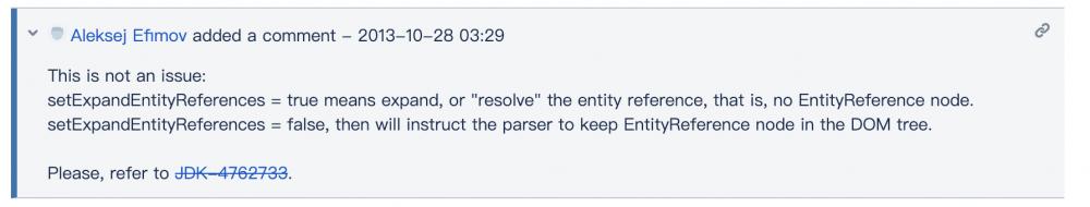 修不好的洞,JDK的坑——从WxJava XXE注入漏洞中发现了一个对JDK的误会
