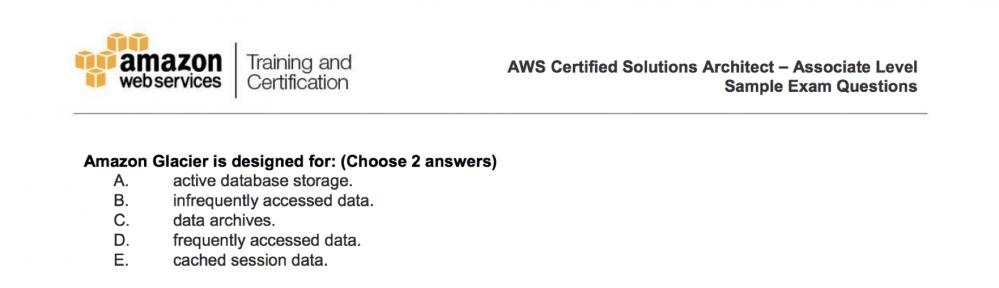 AWS 认证分享