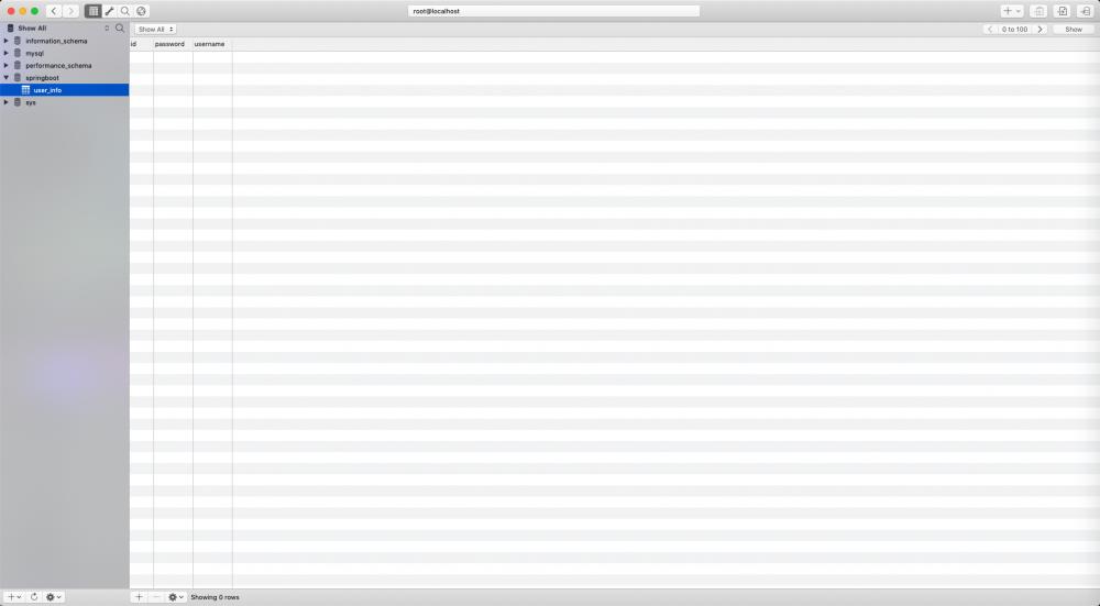 SpringBoot数据库操作