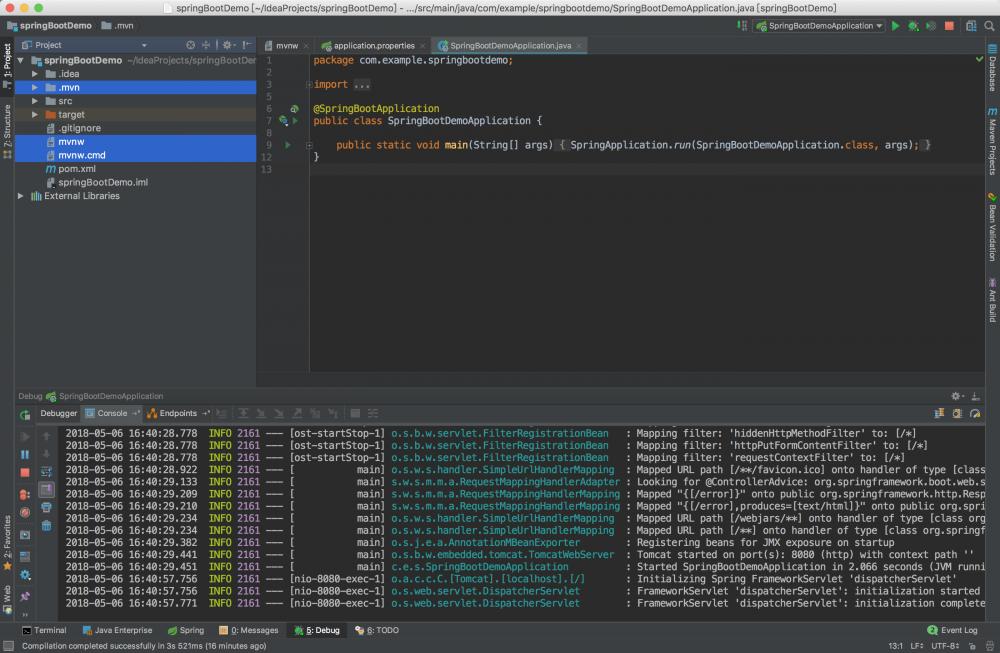 从零开始-使用IntelliJ IDEA创建SpringBoot项目