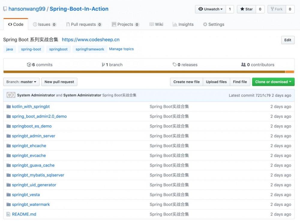一份适合初学者的 Spring Boot 系列实战文章合集(附源码)