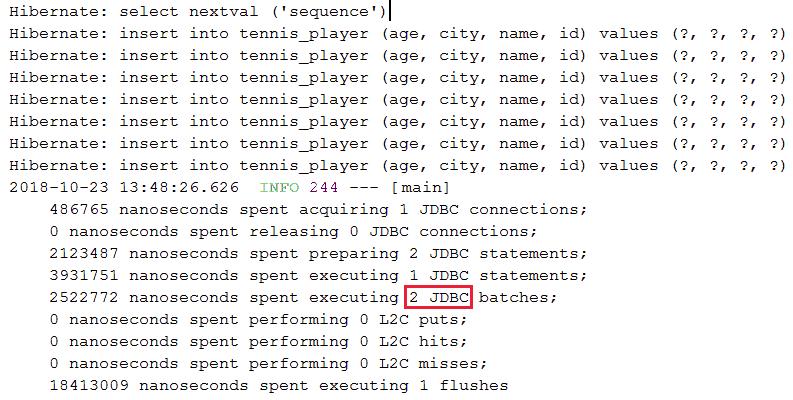Hibernate/JPA批插入中使用PostgreSQL的(BIG)SERIAL自增主键