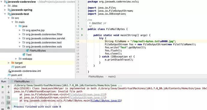 Java Web 安全之代码审计