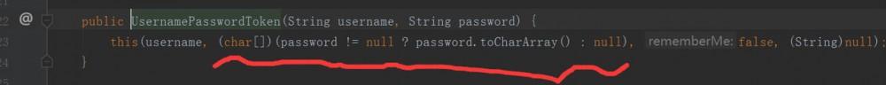 Shiro身份验证抛出AuthenticationException异常,解决方案