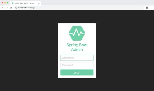 SpringBoot admin 2.0 详解