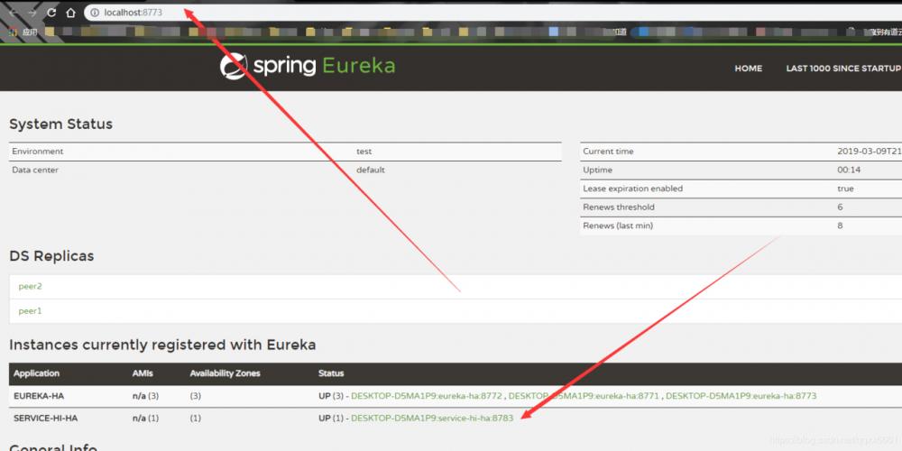 [菜鸟SpringCloud入门]第三章:将Eureka改造为高可用集群