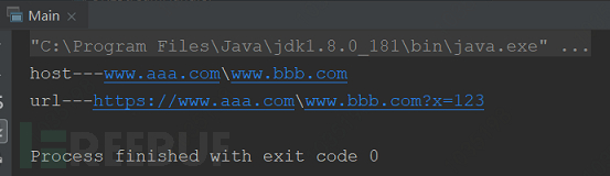 任意URL跳转漏洞修复与JDK中getHost()方法之间的坑