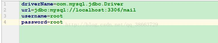 Java读取properties文件连接数据库