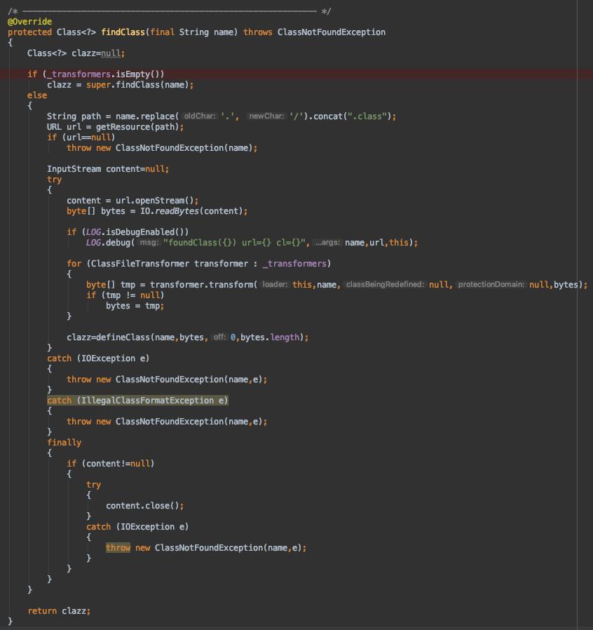 Jetty9源码剖析 - 基础组件 - WebAppClassLoader