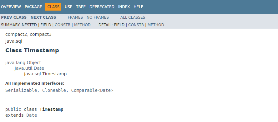 从零单排Java 8(2) —— Timestamp、String互转