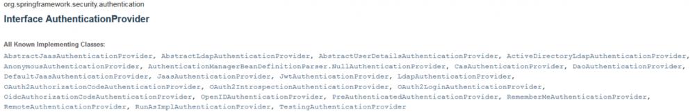 SpringBoot + Spring Security 学习笔记(二)安全认证流程源码详解