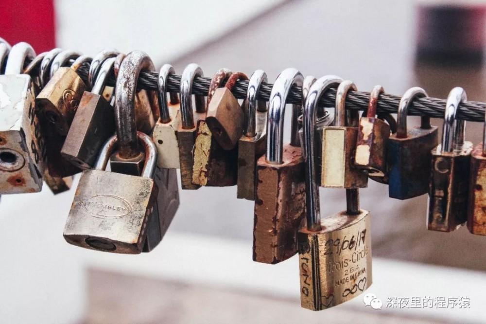 """一文彻底搞懂面试中常问的各种 """"锁"""""""
