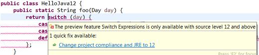 Eclipse宣布支持Java 12