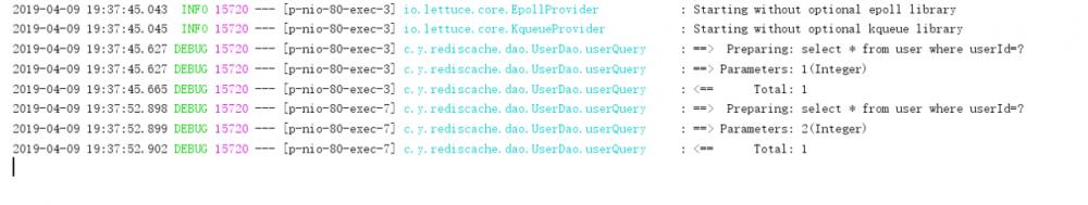 SpringBoot+Redis作为二级缓存整合的基本Demo