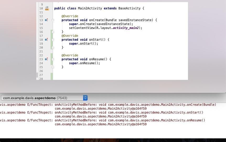 AOP编程之AspectJ介绍及在Android中的应用