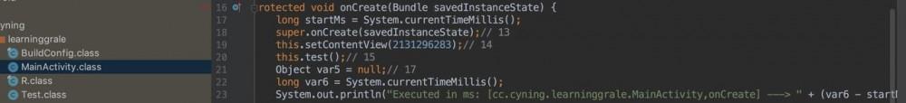 Gradle插件开发- 无侵入的函数运行时间统计的实现
