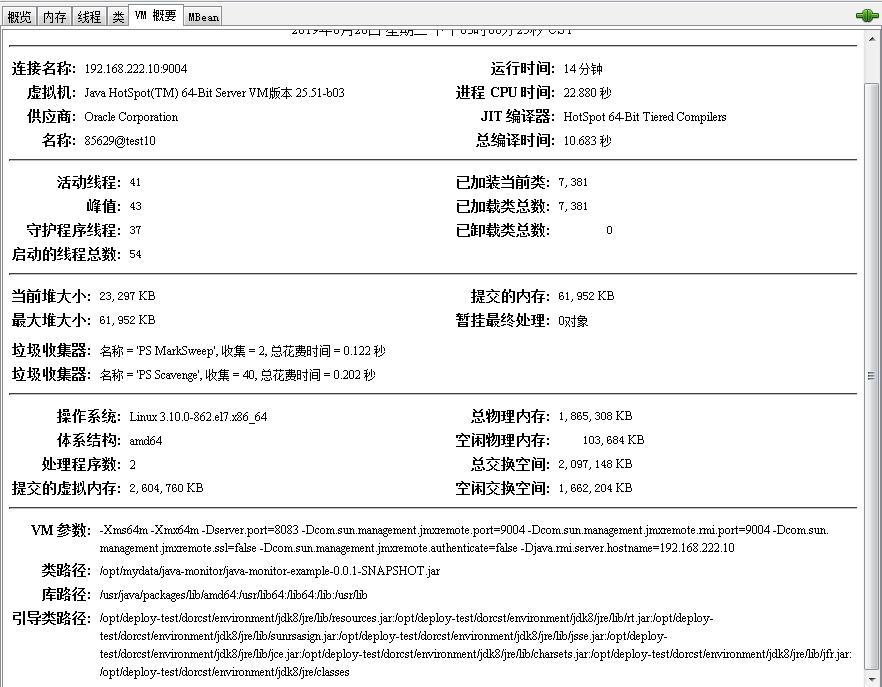 java应用监测(5)-可视化监测工具