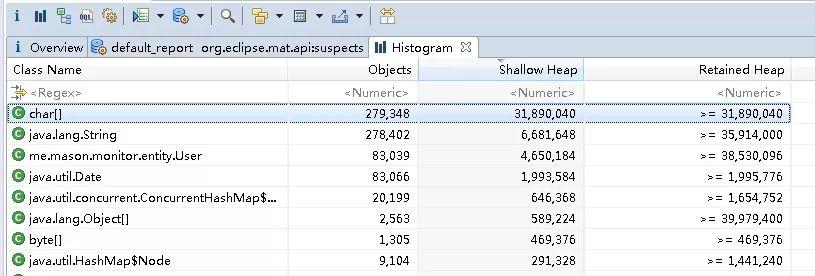 java应用监测(6)-第三方内存分析工具MAT