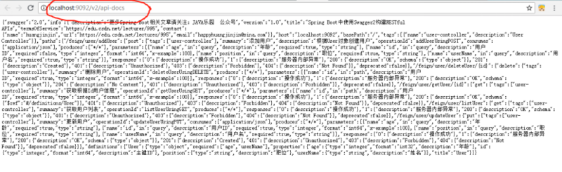16、springcloud整合Swagger2构建Restful服务的APIs