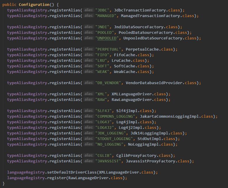 MyBatis启动之XMLConfigBuilder解析配置文件(二)
