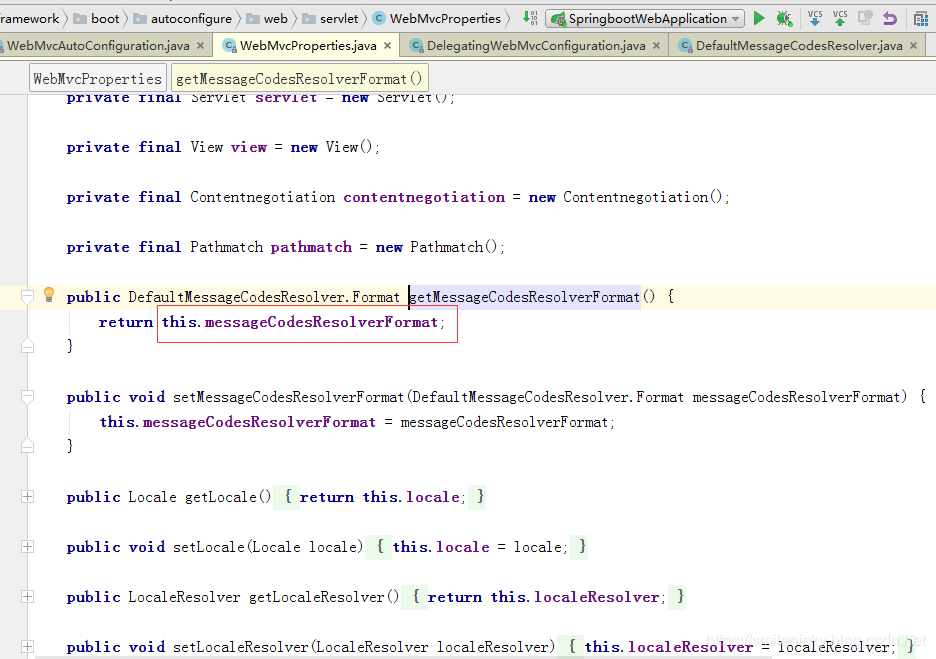 SpringBoot源码学习系列之SpringMVC自动配置