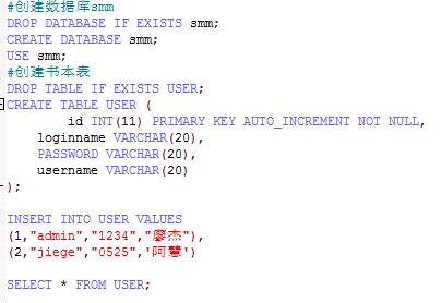 ssm整合的登录