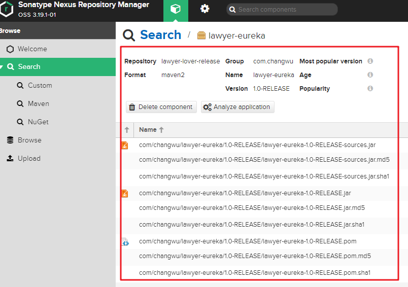 使用Docker搭建maven私服 及常规使用方法