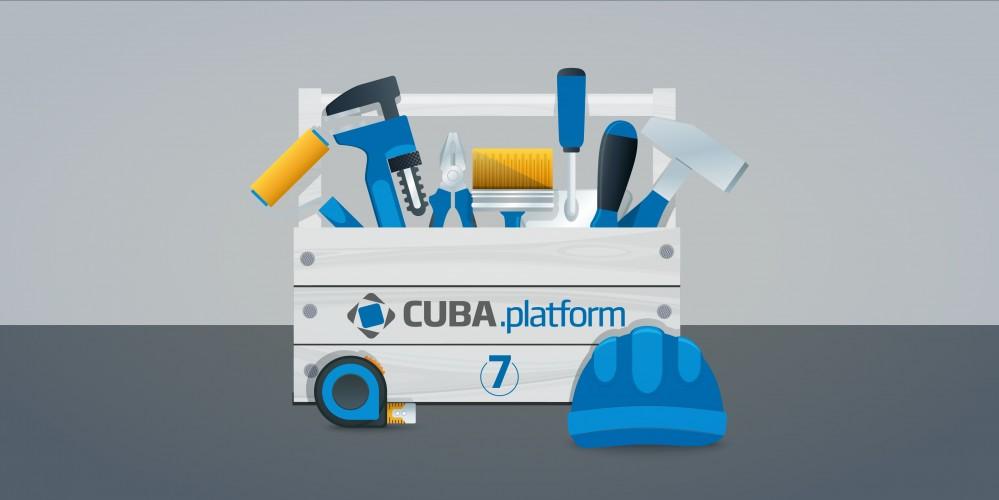 CUBA Platform 7.1.2 发布,企业级应用开发平台