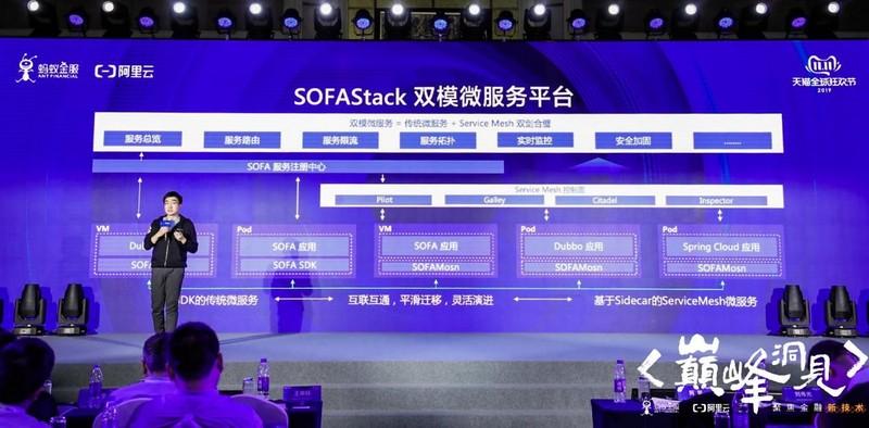 蚂蚁金服重磅发布SOFAStack双模微服务平台