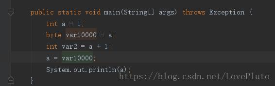 java 趣事之 a=a++ 和 a=++a