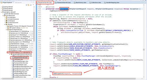 SpringMvc demo示例及源码详细分析