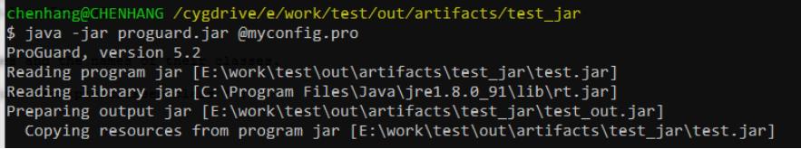 ProGuard代码混淆详细攻略
