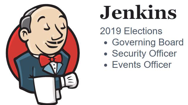 Jenkins 2019 年 Board 和 Officer positions 选举更新